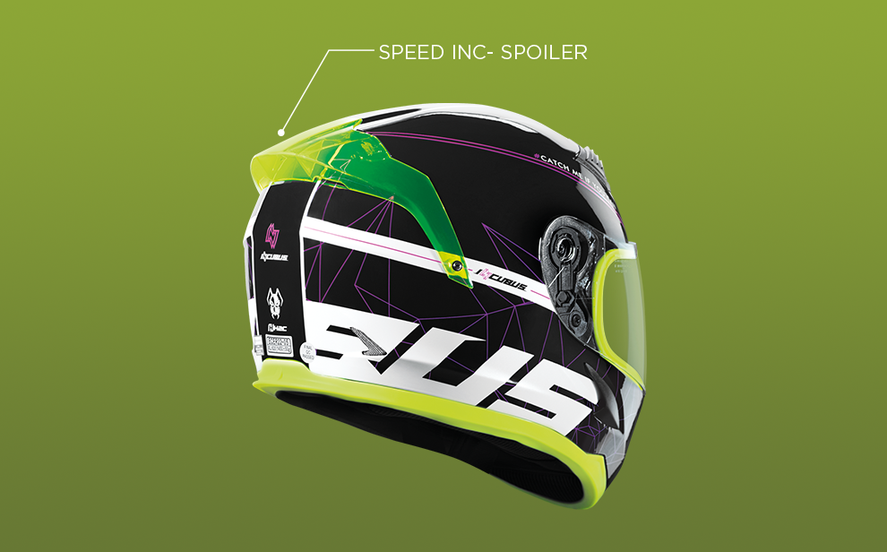 SPEED INC-SPOILER DESIGNED BY H2C