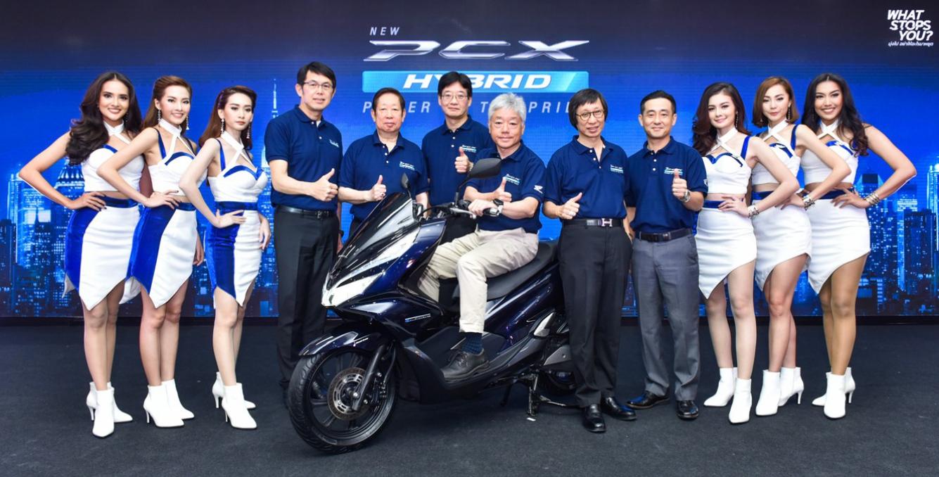 aphonda-ข่าวประชาสัมพันธ์-20180719-new-pcx-hybrid-test-ride