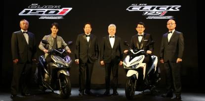 Honda-Motorcycle-มอเตอร์ไซค์-ฮอนด้า-20180502-ข่าวประชาสัมพันธ์-all-new-click-125i-New Click 150i