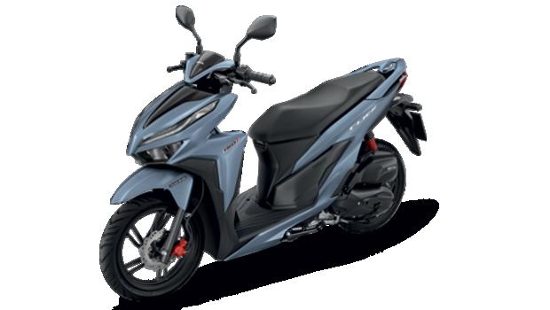 Honda-Motorcycle-มอเตอร�����-ฮอ�ด�า-new-click150i-2018-automatic-color-Silver-Black-สีเ�ิ�-สีดำ