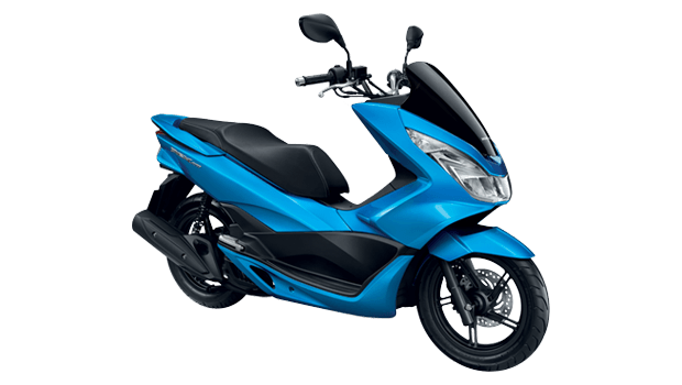 APHonda-PCX150-2015-Colour-Blue-Black