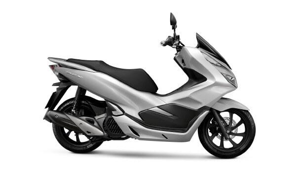 Honda-Motorcycle-มอเตอร�����-ฮอ�ด�า-PCX150-2017-color-White-Black-สี�าว-สีดำ