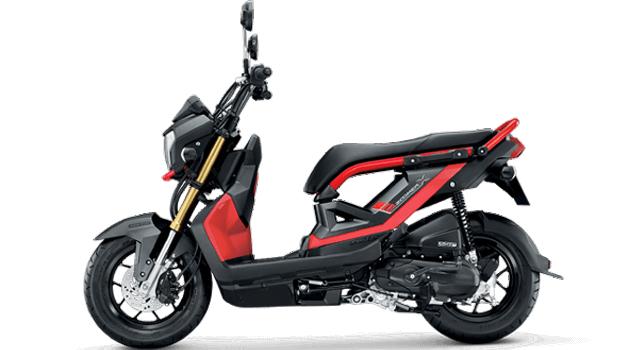 Honda-Motorcycle-มอเตอร�����-ฮอ�ด�า-zoomer-x-2017-color-Orange-Black-สีส�ม-ดำ