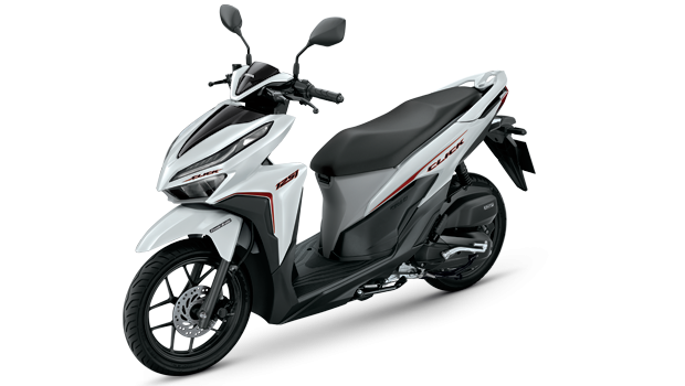 Honda-Motorcycle-มอเตอร�����-ฮอ�ด�า-click-125-i-2018-color-Black