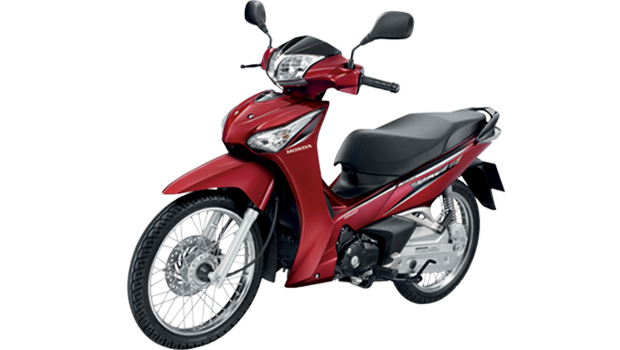 Honda-Motorcycle-มอเตอร์ไซค์-ฮอนด้า-Wave-125i-2016-color-Red-สีแดง