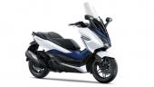 Honda-Motorcycle-มอเตอร์ไซค์-ฮอนด้า-super-cub-2018-color-White-Blue-ขาว-น้ำเงิน