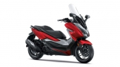 Honda-Motorcycle-Forza-2019-color-Red-Gray-สีแดง-เทา