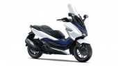 Honda-Motorcycle-Forza-2019-color-White-Blue-สีขาว-น้ำเงิน
