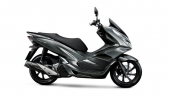 Honda-Motorcycle-มอเตอร์ไซค์-ฮอนด้า-PCX150-2017-color-Silver-Black-สีเทา-สีดำ