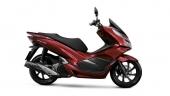 Honda-Motorcycle-มอเตอร์ไซค์-ฮอนด้า-PCX150-2017-color-Red-Black-สีแดง-สีดำ