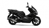 Honda-Motorcycle-มอเตอร์ไซค์-ฮอนด้า-PCX150-2017-color-Black-สีดำ