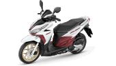 Honda-Motorcycle-มอเตอร์ไซค์-ฮอนด้า-click125i-2017-color-White-Red-สีขาว-สีแดงเลือดหมู