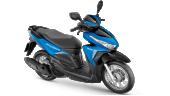 Honda-Motorcycle-มอเตอร์ไซค์-ฮอนด้า-click125i-2017-color-Blue-Black-สีฟ้า-สีดำ