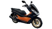 Honda-Motorcycle-มอเตอร์ไซค์-ฮอนด้า-pcx-150-2016-color-black-orange-สีส้ม-สีดำ