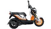 Honda-Motorcycle-มอเตอร์ไซค์-ฮอนด้า-zoomer-x-2016-color-White-Black-สีขาว-สีดำ