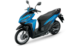 Honda-Motorcycle-มอเตอร์ไซค์-ฮอนด้า-click-125-i-2018-color-Blue-Black