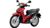 Honda-Motorcycle-มอเตอร์ไซค์-ฮอนด้า-Wave-110i-2017-color-Black-Red-สีดำ-สีแดง