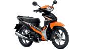 Honda-Motorcycle-มอเตอร์ไซค์-ฮอนด้า-Wave-110i-2017-color-Black-Orange-สีส้ม-สีดำ