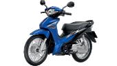 Honda-Motorcycle-มอเตอร์ไซค์-ฮอนด้า-Wave-110i-2017-color-Blue-Black-สีน้ำเงิน-ดำ