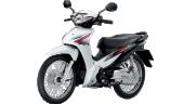 Honda-Motorcycle-มอเตอร์ไซค์-ฮอนด้า-Wave-110i-2017-color-White-Black-สีขาว-ดำ
