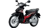 Honda-Motorcycle-มอเตอร์ไซค์-ฮอนด้า-Wave-110i-2016-color-Black-Red2-ดำ-แดง2