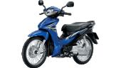 Honda-Motorcycle-มอเตอร์ไซค์-ฮอนด้า-Wave-110i-2016-color-Blue-Black-น้ำเงิน-ดำ