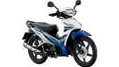 Honda-Motorcycle-มอเตอร์ไซค์-ฮอนด้า-Wave-110i-2017-color-White-Blue-สีขาว-น้ำเงิน