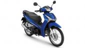 Honda-Motorcycle-มอเตอร์ไซค์-ฮอนด้า-All New Wave 125i-color-น้ำเงิน-ดำ