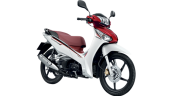 Honda-Motorcycle-มอเตอร์ไซค์-ฮอนด้า-Wave-125i-2016-color-White-Red-สีขาว-สีแดง