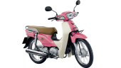 Honda-Motorcycle-มอเตอร์ไซค์-ฮอนด้า-supercub-2017-color-Pink- White-สีชมพู-ขาว