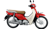 Honda-Motorcycle-มอเตอร์ไซค์-supercub-2017-color-Red-White-สีแดง-สีขาว