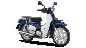 Honda-Motorcycle-มอเตอร์ไซค์-ฮอนด้า-supercub-2018-color-Blue-White-สีน้ำเงิน-สีขาว
