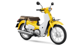 Honda-Motorcycle-มอเตอร์ไซค์-ฮอนด้า-supercub-2018-color-Yellow-White-สีเหลือง-สีขาว