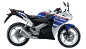 Honda-Motorcycle-มอเตอร์ไซค์-ฮอนด้า-CBR150R-LEGEND-SPIRIT-color-White-Blue-สีขาว-สีน้ำเงิน