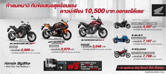 Honda-bigbike-Motorcycle-มอเตอร์ไซค์-บิ๊กไบค์-ฮอนด้า-Promotion-ท้าลมหนาว-Honda-BigBike