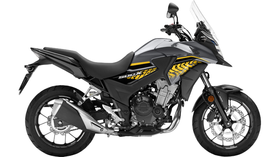 Honda-bigbike-Motorcycle-มอเตอร์ไซค์-บิ๊กไบค์-ฮอนด้า-CB500X-Color-สีรถ-Sliver-Black-เงิน-ดำ