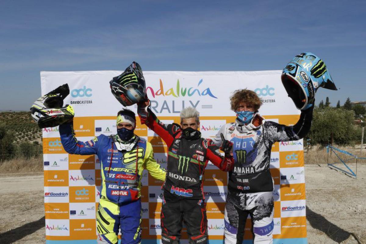 Monster Energy Honda คว้าชัยใน  Andalucia Rally