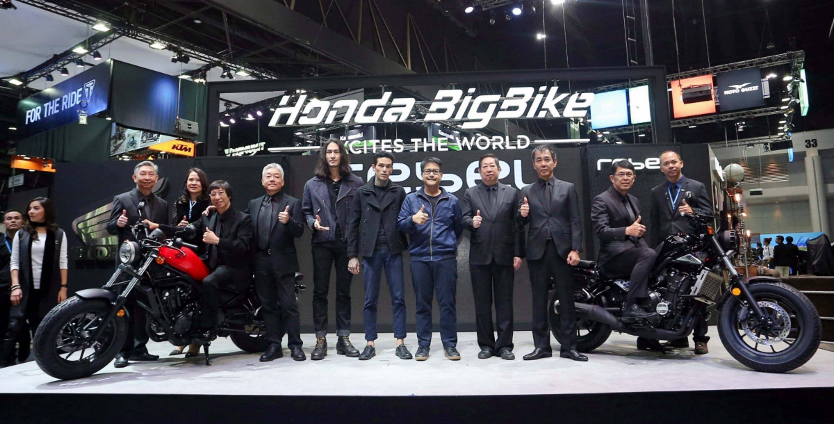 Honda-bigbike-Motorcycle-มอเตอร์ไซค์-บิ๊กไบค์-ฮอนด้า-News-ข่าวประชาสัมพันธ์-เปิดตัว-Rebel-รถคัสต้อมบ็อบเบอร์ดีไซน์-Express-Yourself