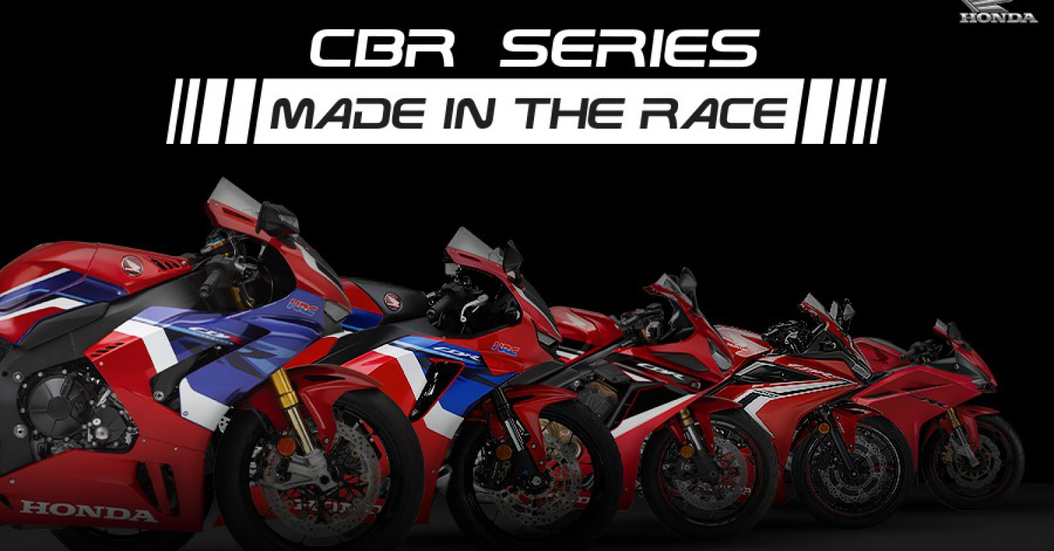 CBR Series MADE IN THE RACE