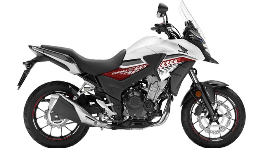 Honda-bigbike-Motorcycle-มอเตอร์ไซค์-บิ๊กไบค์-ฮอนด้า-CB500X-Color-สีรถ-White-Black-ขาว-ดำ