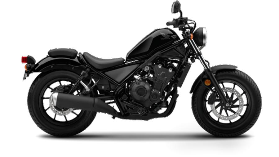 Honda-bigbike-Motorcycle-มอเตอร์ไซค์-บิ๊กไบค์-ฮอนด้า-REBEL-500-Color-สีรถ-Black-ดำ