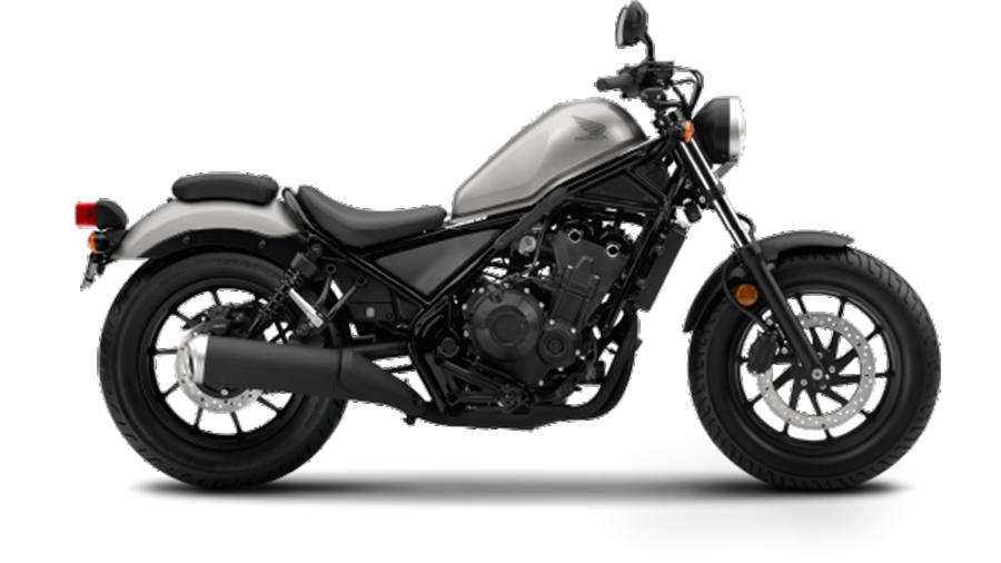 Honda-bigbike-Motorcycle-มอเตอร์ไซค์-บิ๊กไบค์-ฮอนด้า-REBEL-500-Color-สีรถ-Grey-Black-เทา-ดำ