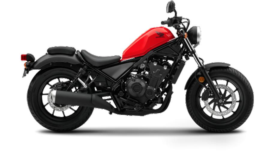 Honda-bigbike-Motorcycle-มอเตอร์ไซค์-บิ๊กไบค์-ฮอนด้า-REBEL-500-Color-สีรถ-Red-Black-เแดง-ดำ
